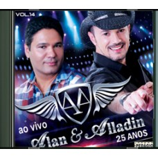 ALAN E ALLADIN  - 25 Anos -  CD