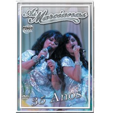 AS MARCIANAS - 35 anos - CD e DVD (Envelope Duplo)