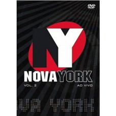 BANDA NOVA YORK - Ao Vivo - vol.1 - DVD