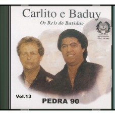 CARLITO E BADUY - Vol. 13 - Pedra 90 - CD