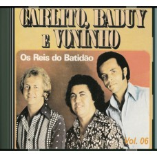 CARLITO, BADUY E VONINHO - vol. 6 - CD