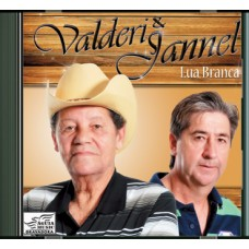 VALDERI E JANNEL - Lua Branca - vol. 1 - CD